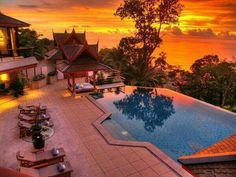 Thai holiday resort, beautiful