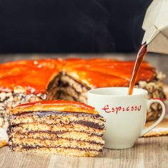Regular readers will know that I am not much of a baker, I don't have a sweet tooth but I am determined to improve but my decision to try a legendary Dobos Torte Recipe (pronounced dobosh) is definitely one of those kill or cure moments. I will not