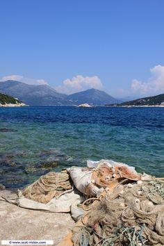The tranquil and idyllic island of Sipan, one of the Elaphite Islands, in Croatia.