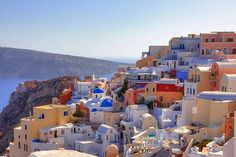 Volcano and Hot Springs In Santorini   http://blog.monarch.co.uk/the-top-destinations-for-adventure-lovers/