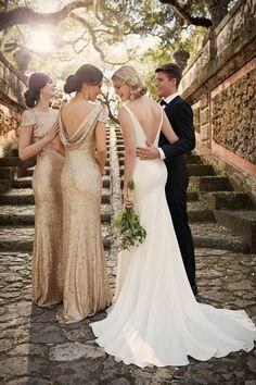 Sequin bridesmaid dresses from Sorella Vita