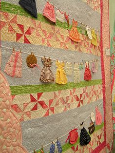 I love this quilt. I would like to be able to have the time to do this for a wall hanging.