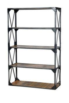 Industrial Bookshelf by Modern Vintage Style Furniture on @HauteLook