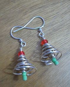 Christmas earrings 2012