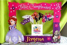 marco de fotos para fiesta de princesa sofia - Buscar con Google