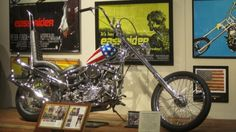 The Captain America machine has spent quite some time on display at the National Motorcycl...