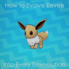 """Learn how to evolve #Eevee into all eight of its """"eeveelutions"""", in every #Pokemon game!"""