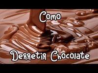 Como Derretir Chocolate A Bano Maria Tutorial Como Yo Lo Hago D