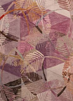 Serenade of Leaves Motifs Textiles, Textile Patterns, Textile Prints, Color Patterns, Print Patterns, Surface Pattern, Surface Design, Vector Pattern, Pattern Design