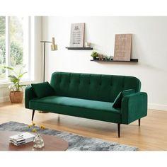 Sofa, Couch, Decoration, Convertible, Furniture, Home Decor, Velvet, Home, Decor