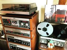 My Revox stereo setup is preparing for The Czars (Best of 2-lp). One of my all time favorite bands with John Grant as lead voice. Over the years I have had several stereo sets. Vintage and not so vintage. This set will stay with me for a very long time I'm sure. It's taken me quite some time to get everything right. But now it really is a joy to spin a record, a cassette or a reel tape. And with one of the earlier cd players on the market (Revox B226 from the end if the 80's) it's also…