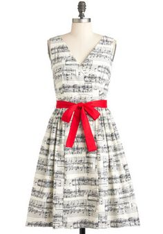 In the Key of Chic Dress, ModCloth