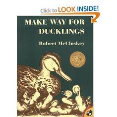 Make Way for Ducklings: Robert McCloskey: 9780140564341: Amazon.com: Books