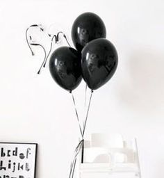 """BLACK Gatsby Theme latex balloons pack 6,12,24,48,100 Wedding White Balloons 12 """", Baby Shower, Birthday Decoration, Party Balloons 36 Inch Balloons, Helium Filled Balloons, Black Balloons, Latex Balloons, Balloon Pump, The Balloon, Balloon Decorations, Birthday Decorations, Decoration Party"""