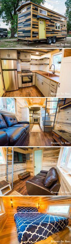A new custom tiny house from Mitchcraft Tiny Homes