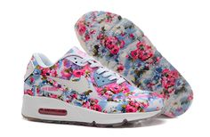 huge selection of 49e91 488b9 Nike Air Max 90 Floral Print Womens Jade Wild Rose Training Shoes, cheap  Nike Air Max 90 Floral, If you want to look Nike Air Max 90 Floral Print  Womens ...