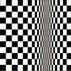 bridget riley: movement in squares (1961)