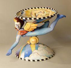 Danisha Sculpture, Guardian Angel, 2004. Value: $925.00