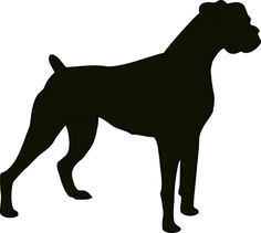 Boxer Silhouette clip art - vector clip art online, royalty free & public domain
