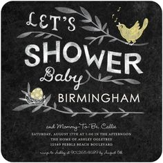 Let's Shower the Baby with Love and celebrate the Mommy-to-Be! New gender neutral baby shower invitations from Tiny Prints.