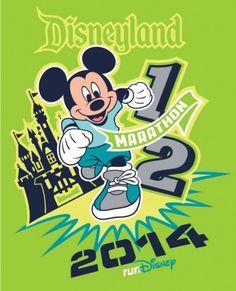 2014 Disneyland Half Marathon Shirt | Disneyland Half Marathon Weekend | Running At Disney #runDisney #DisneylandHalf