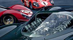 Jaguar Ford GT40 Ferrari P3