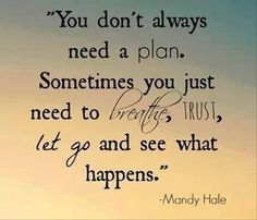 www.LoseTheFatWithJax.com #inspirational #quotes #needaplan #breathe #trust #letgo #seewhathappens #life
