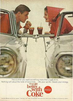 Coca Cola Original 1965 Vintage Print Ad Color by VintageAdarama, $9.99