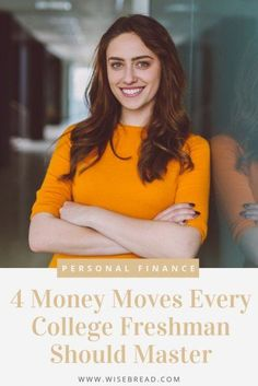 Are you in college and want to know how to make good financial decisions? These are 4 important money moves you should know how to make. | #finance #personalfinance #moneymatters College Costs, College Fun, Money Tips, Money Saving Tips, Pay Yourself First, Best Insurance, Student Loan Debt, Get Out Of Debt, New People
