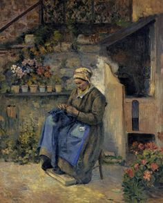 Camille Pissarro Mother Jolly