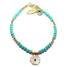 Jewellery & Gifts from Dogeared, Daisy London and more! Gold Plated Bracelets, Stacking Bracelets, Turquoise Jewelry, Turquoise Bracelet, Daisy London, Friendship Bracelets With Beads, Disney Couture, Summer Is Coming, Jewelry Gifts