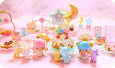 little twin stars: miniatures