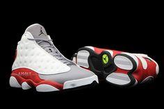 7f7a447d6c2 Air Jordan 13 Retro White Black-Gym Red-Cement Grey 414571-126  2014110507   -  109.00