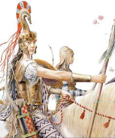 Greek Warrior, Warrior Women, Black Ships Before Troy, Ancient History, Art History, Trojan War, Greek Art, Historical Pictures, Medieval Fantasy