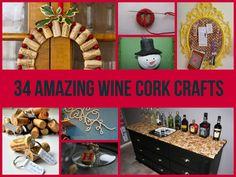 34 Amazing Wine Cork Crafts
