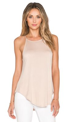 Shop for De Lacy Alissa Tank in Taupe at REVOLVE. Silk Cami Top, Camisole Top, Love Fashion, Womens Fashion, Revolve Clothing, Cami Tops, Sexy Outfits, Casual Chic, Trending Outfits