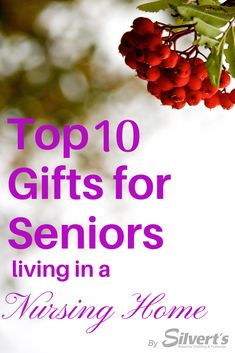 Living in a nursing home changes your living style and life style. So what do you get someone with a smaller space, living in a place with tons of resources available to them? Here is Silvert's TOP TEN gifts for seniors living in a nursing home! Nursing Home Gifts, Nurse Gifts, Nursing Homes, Gifts For Elderly Women, Christmas Gifts For Nurses, Santa Gifts, Gifts For Seniors Citizens, Assisted Living Homes, Blessing Bags