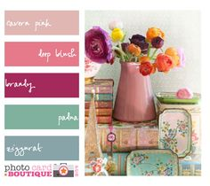 Simply Suzanna: Color Pallets