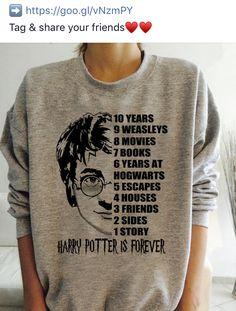 Harry Potter T Shirts, Anel Harry Potter, Objet Harry Potter, Mode Harry Potter, Magia Harry Potter, Harry Potter Feels, Harry Potter Sweatshirt, Harry Potter Decor, Harry Potter Style