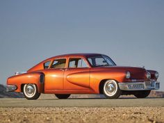 "Preston Tucker and the ""car of tomorrow"" the iconic Tucker '48. #prestontucker #tucker48 #autodesign"
