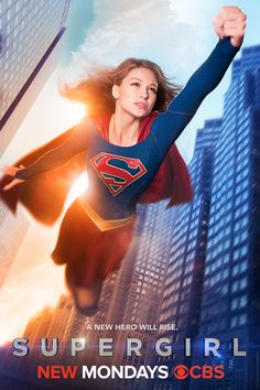 A new hero rises in first 'Supergirl' poster