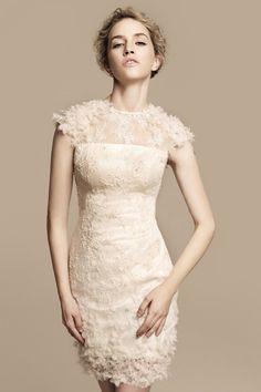 Vestido curto - casamento civil