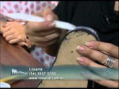 Mulher.com 14/09/12 - Marisa Magalhães - Decupagem em chinelo de MDF 01-02 - YouTube