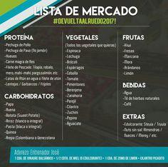 Cambia tu vida con esta guía de 10 días ,alimentándose bien de entrenador José . Compra de productos a necesitar.