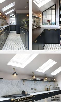 Check how we have transformed kitchen with these kitchen ceiling lights. Get some lighting ideas for your own kitchen and enjoy designing your home! Kitchen Lighting Over Table, Kitchen Ceiling Lights, Kitchen Lighting Fixtures, Ceiling Lighting, Ceiling Ideas, Sconce Lighting, Beautiful Kitchen Designs, Beautiful Kitchens, Dark Grey Kitchen