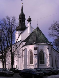 Beautiful photo of the oldest church in Estonia - the Dome Church. The Cathedral of Sant Mary the Virgin, (commonly known as Dome Church), was established so long time ago that the earliest history of ancient building can be reconstructed on suppositions only. But it was obvious that soon after the Danish invasion in June 1219, the first wooden predecessor of the present church was built...