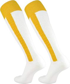 TCK 2-n-1 Premium Stirrup Socks (Gold, Small) Softball Socks, Baseball Socks, Baseball Games, Football Equipment, Summer Games, Sport 2, Babe Ruth, Exercise For Kids, Beautiful Curves