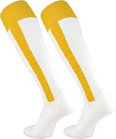 TCK 2-n-1 Premium Stirrup Socks (Gold, Small)