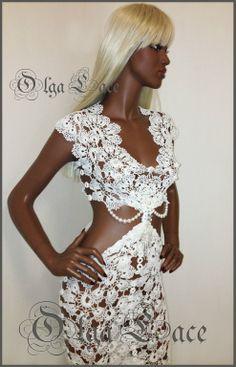 платье дизайнера Olga Lace