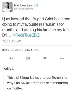 That is such a thing that Ron would do